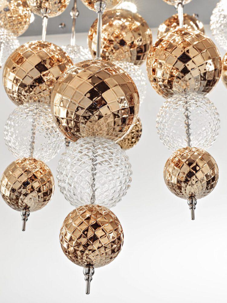 zafferano ailati lights dekorative glas leuchten regolo