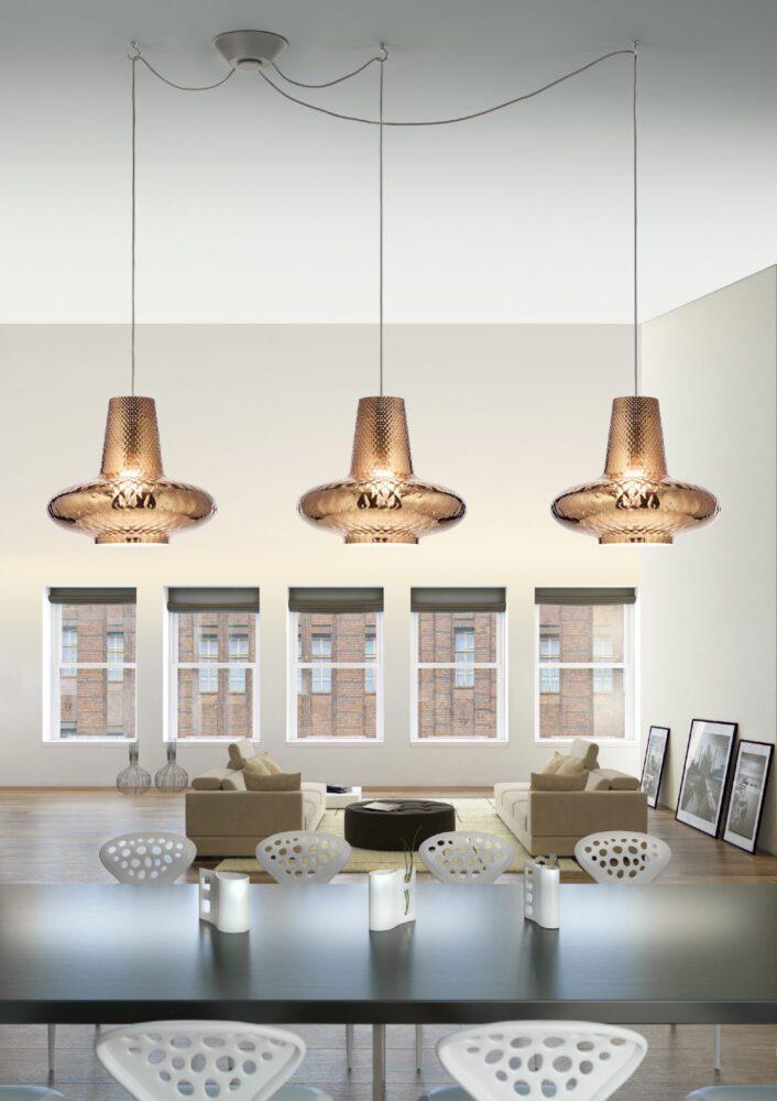 zafferano ailati lights dekorative glas leuchten romeo giulietta