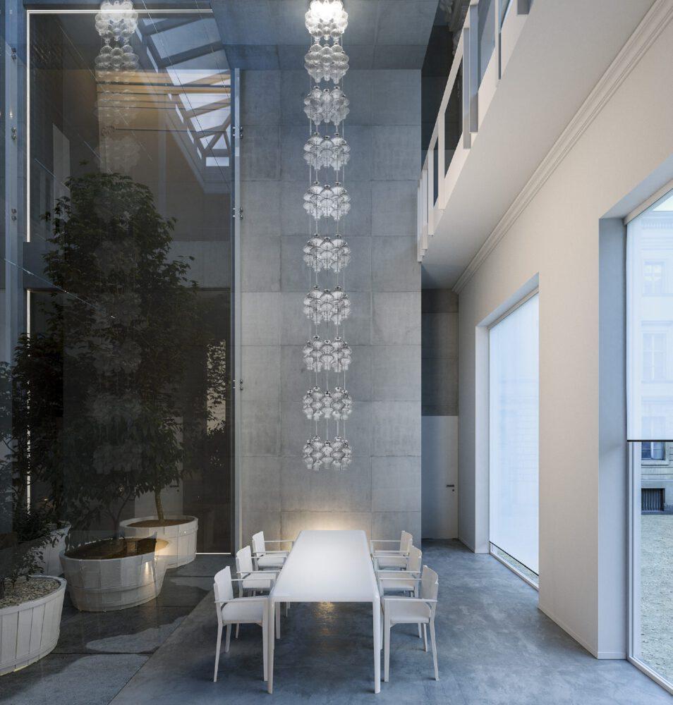 zafferano ailati lights dekorative glas leuchten ONDA