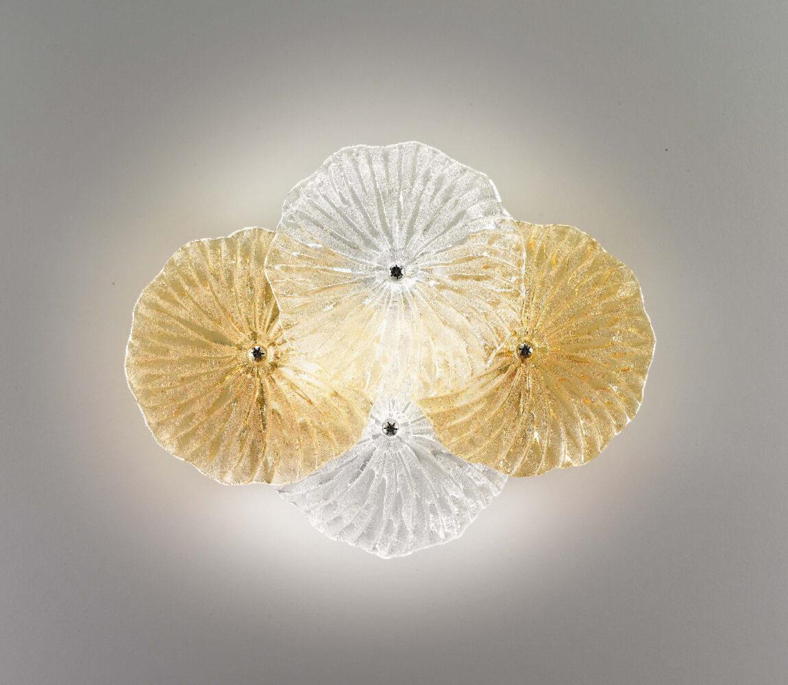zafferano ailati lights dekorative glas leuchten MARIPOSA