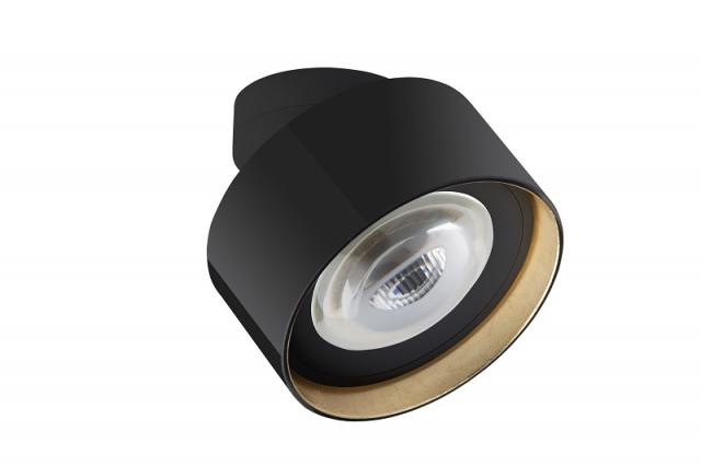 lumexx Luxx Glass strahler mit linse Schwarz Gold_1 web