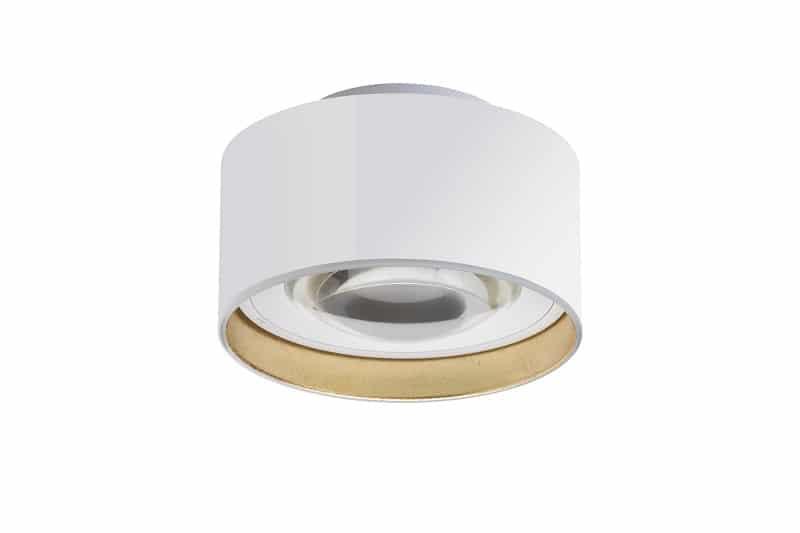 lumexx Luxx Glass strahler mit linse Weiß Gold_2 web