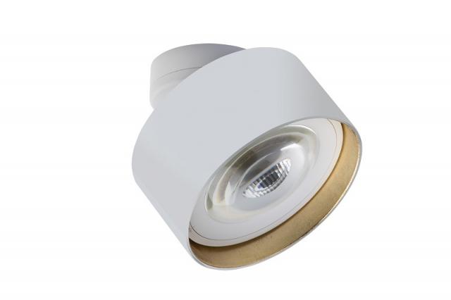 lumexx Luxx Glass strahler mit linse Weiß Gold_3 web