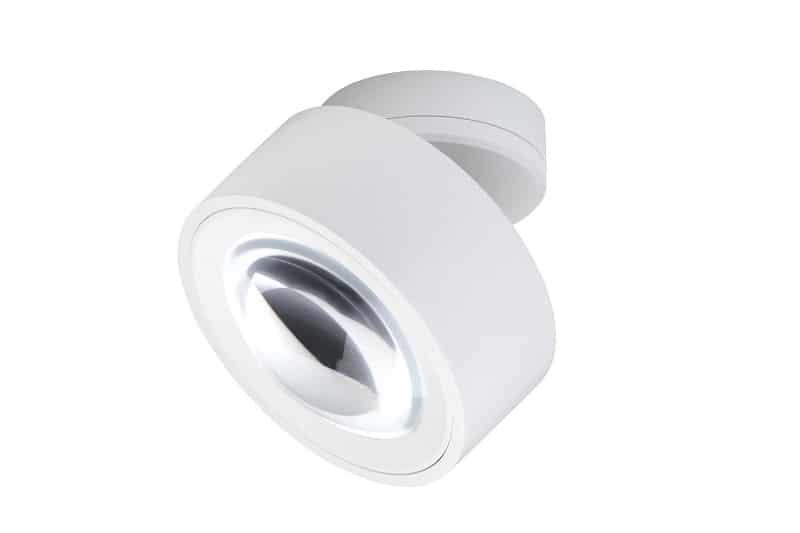 lumexx Luxx Glass strahler mit linse weiss web