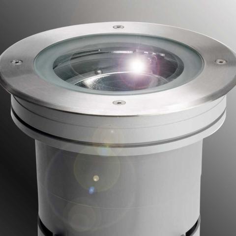 Augenti IRIS boden einbau leuchten für Halogen LED ip67