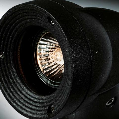 Augenti LUNOS Symmetrischer Projektor Wand Decke Erdspitze Mastmontage für Halogen Power-LED-Lampen