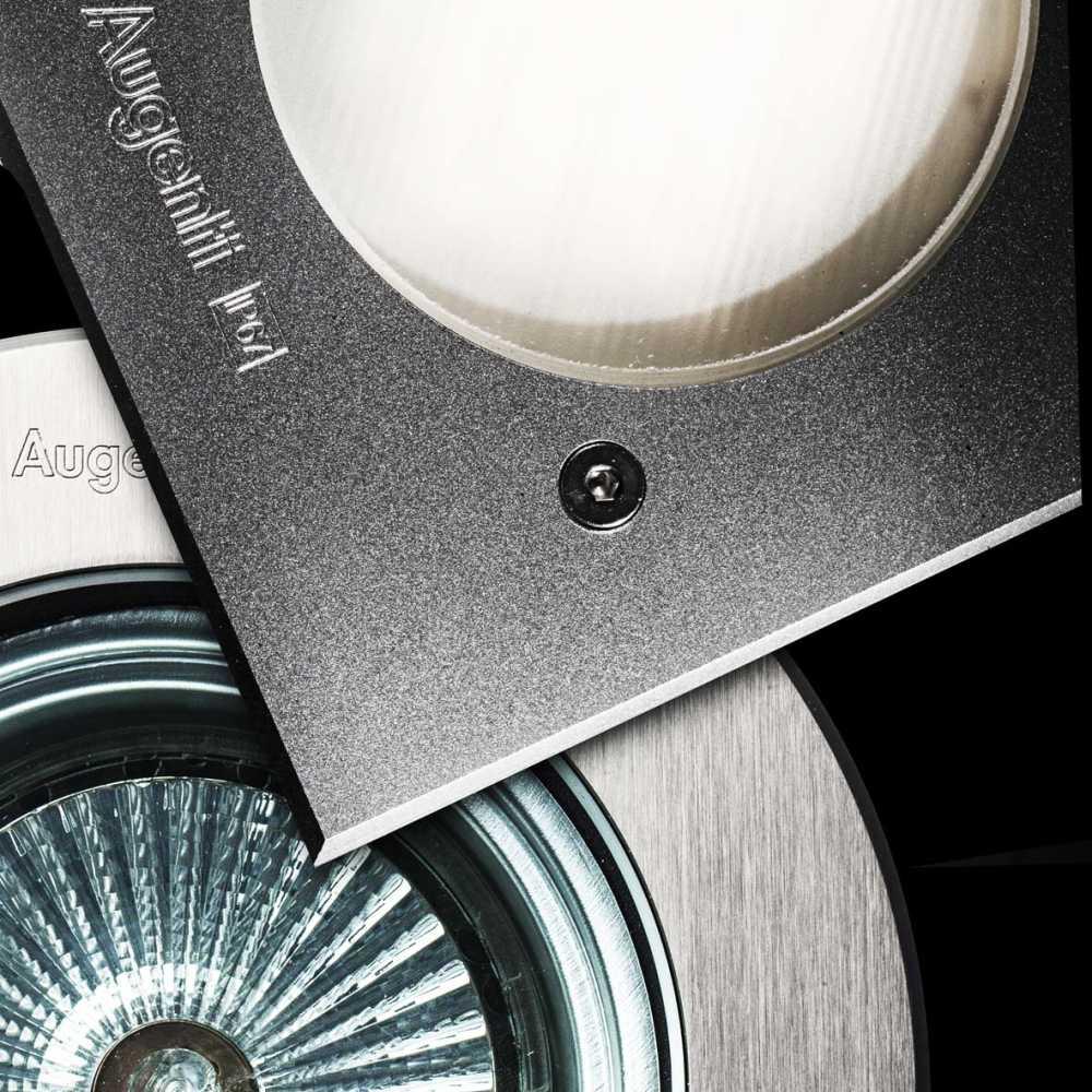Augenti PLATHO befahrbare leuchtenBoden Wand und decke für lineare Halogenlampen und Power-LEDs ip67