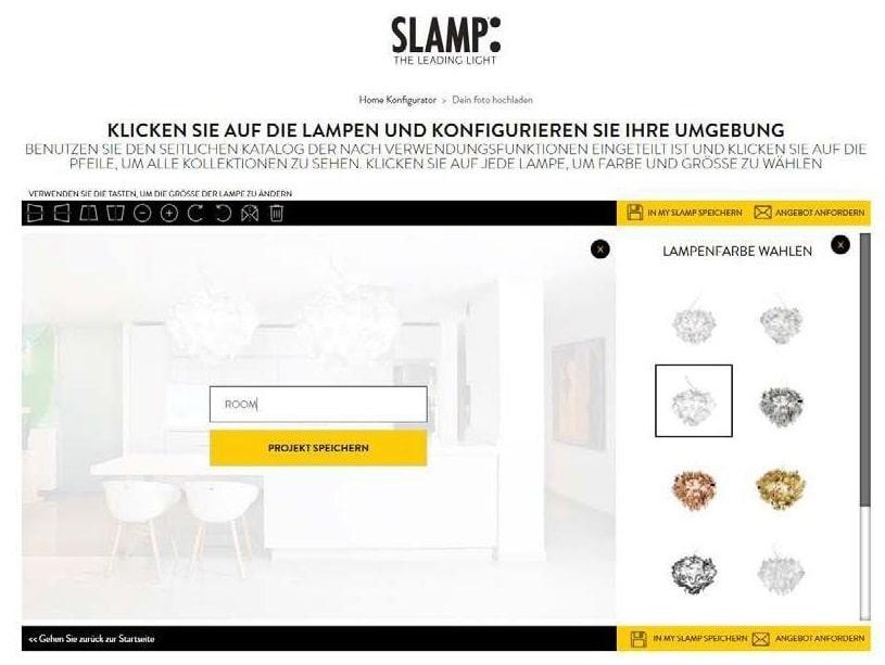 Slamp leuchten konfigurator inspirieren-lassen offene küche 4
