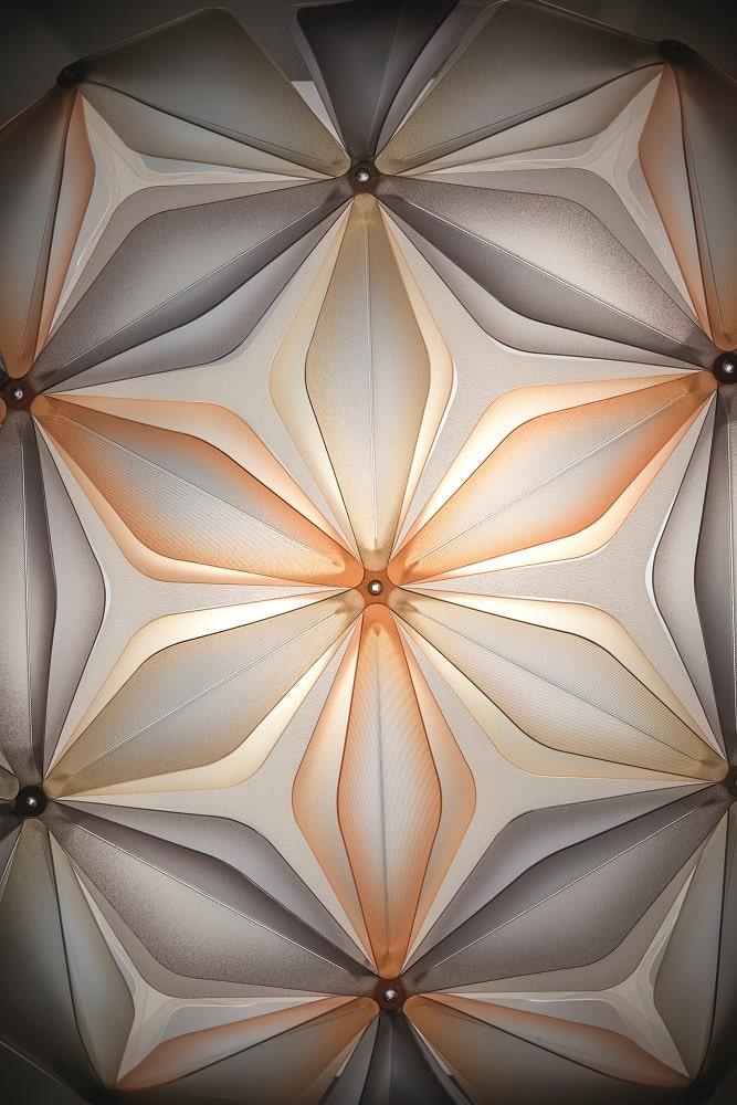 slamp la vie dekorative designer deckenleuchte italien Amber Detail-min