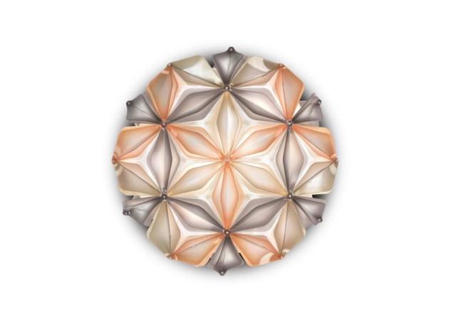 slamp la vie dekorative designer deckenleuchte italien Amber no background-min