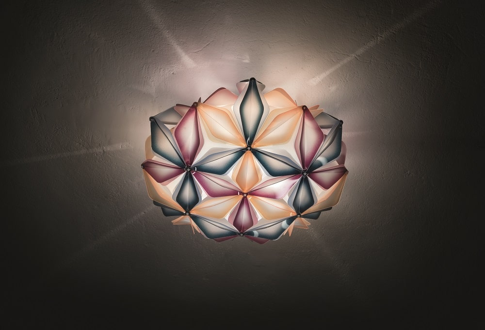 slamp la vie dekorative designer deckenleuchte italien Multiblue ceiling view-min