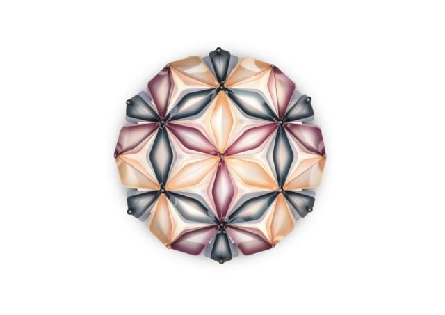slamp la vie dekorative designer deckenleuchte italien Multiblue no background-min