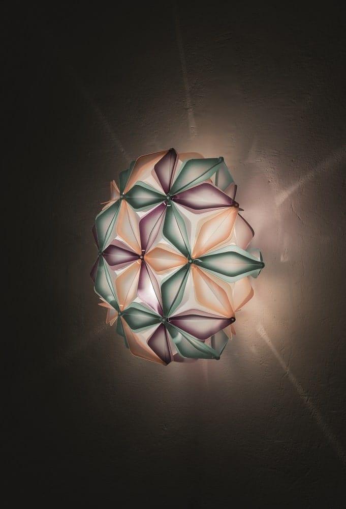 slamp la vie dekorative designer deckenleuchte italien Multigreen ceiling view-min