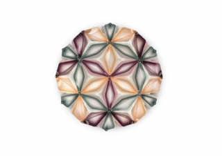 slamp la vie dekorative designer deckenleuchte italien Multigreen no background-min