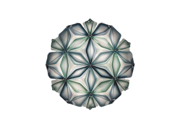 slamp la vie dekorative designer deckenleuchte italienv Blue no background-min