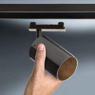 lumexx trivario design schienensystem hochvolt mit magnet adapter