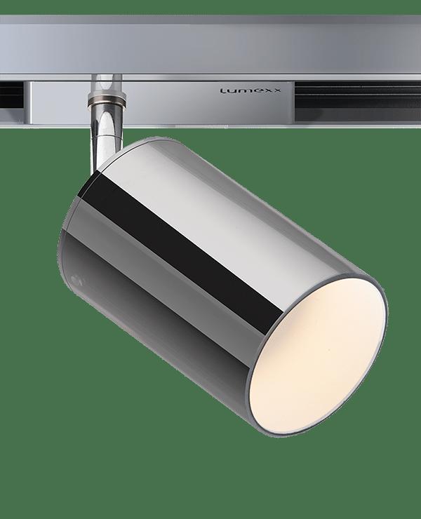 lumexx trivario design schienensystem hochvolt mit magnet led Spot-Lenxx-chrom