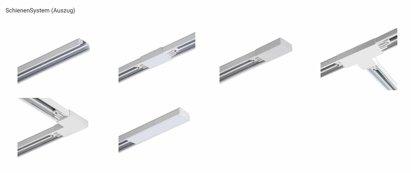 lumexx trivario design schienensystem hochvolt mit magnet led lichtpanels pendel spot