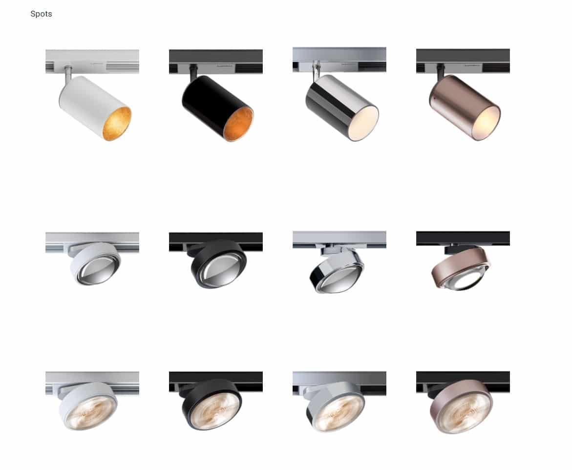 lumexx trivario design schienensystem hochvolt mit magnet led spot 1