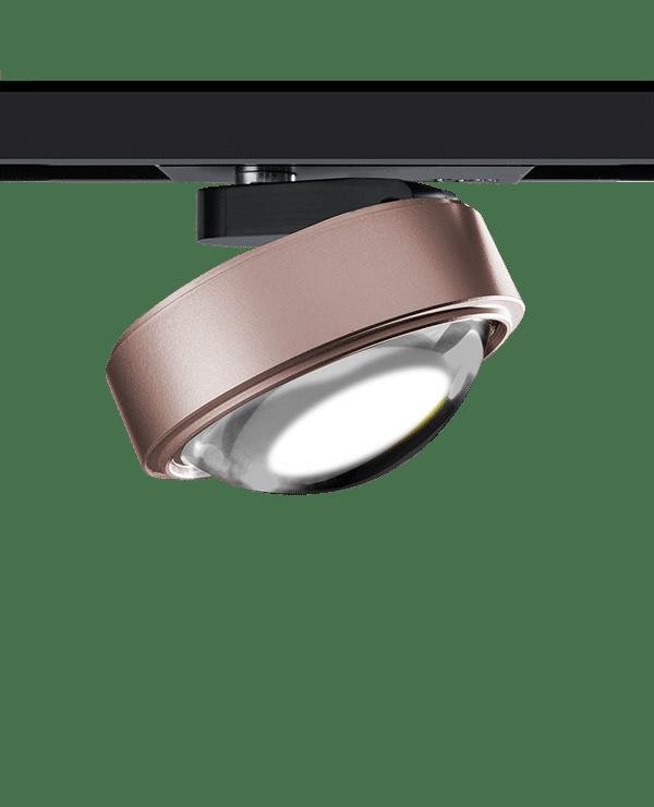 lumexx trivario design schienensystem hochvolt mit magnet led spot nubixx rose