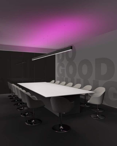 Pan-international-karma-lineare-system-beleuchtung-dekorative-stahl-cover-abdeckungen-referenz-bild-buero-