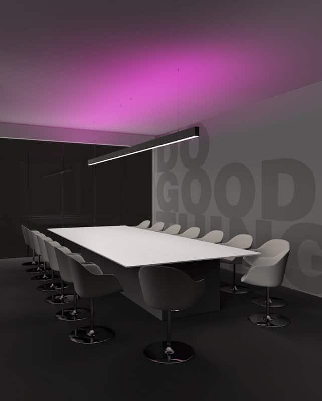 Pan-international-karma-lineare-system-beleuchtung-dekorative-stahl-cover-abdeckungen-referenz-bild-buero